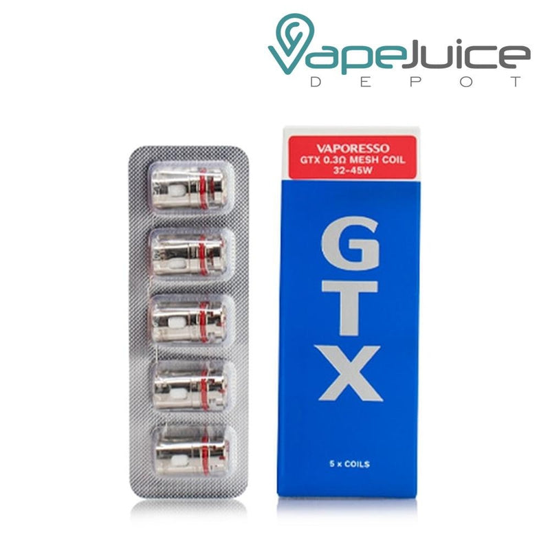 Vaporesso GTX Replacement Coils 0.3 - Vape Juice Depot