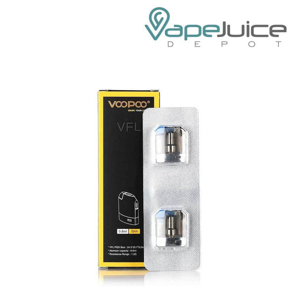 voopoo VFL replacement pods - VapeJuiceDepot