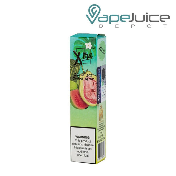Xtra Disposable Pod Guava Mint - Vape Juice Depot