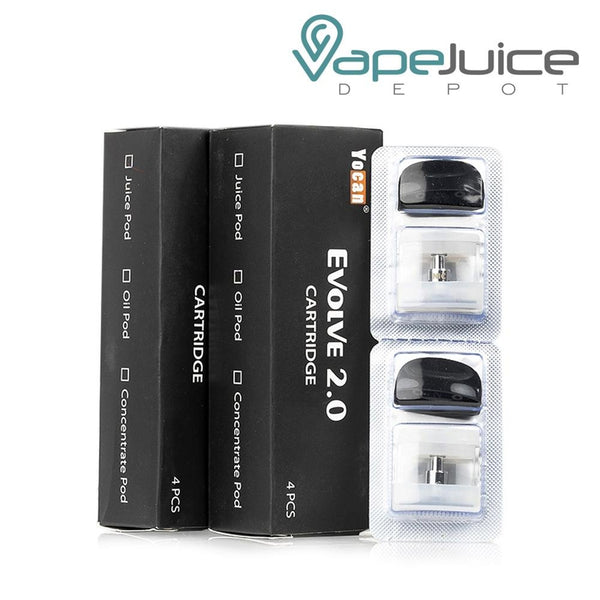Yocan Evolve 2.0 Pod Cartridge - Vape Juice Depot