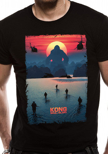 Kong: Skull Island T Shirt in Black