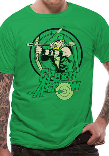 Mens Green Arrow T-Shirt by DC Comics