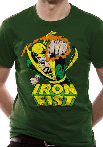 Mens Iron Fist T Shirt
