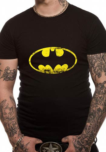 Mens Batman T shirt in Black