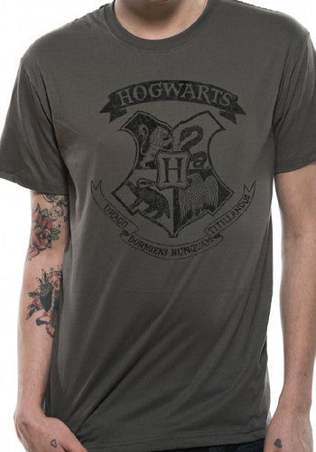 Mens Harry Potter Hogwarts T Shirt