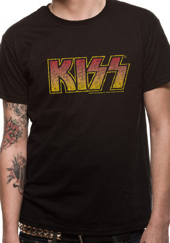 Mens Kiss Logo T Shirt