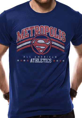 Metropolis Athletics Superman T Shirt