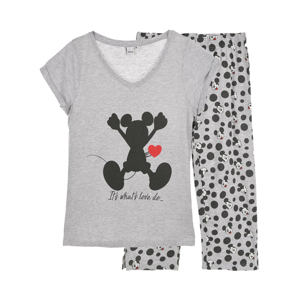 Mickey Mouse Pyjamas - Grey