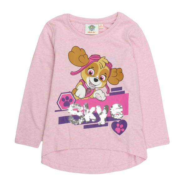 Paw Patrol Girls Long Sleeve T-Shirt