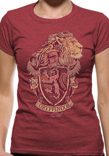 Harry Potter Gryffindor T Shirt Unisex