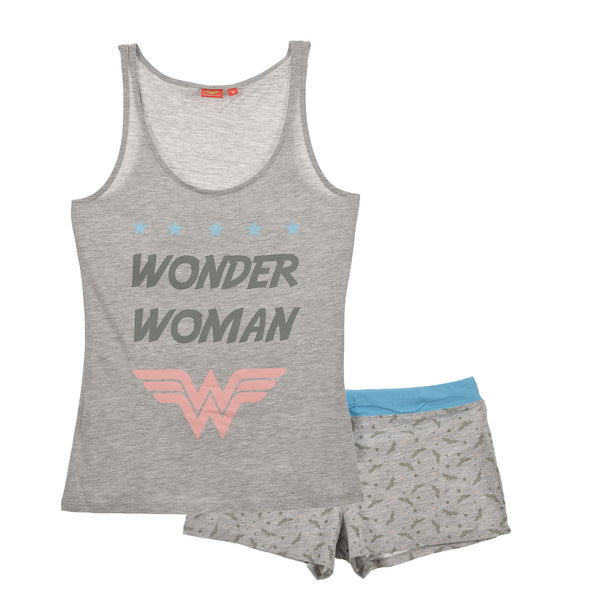 Wonder Woman Pyjamas - Grey