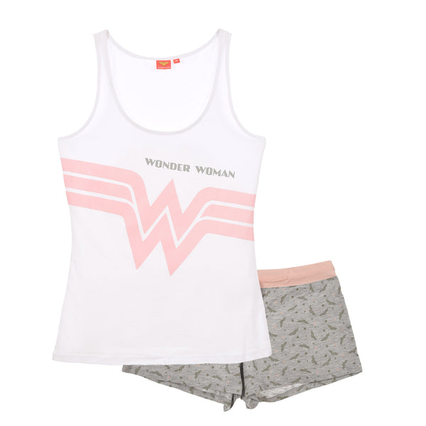 Wonder Woman Pyjamas - White