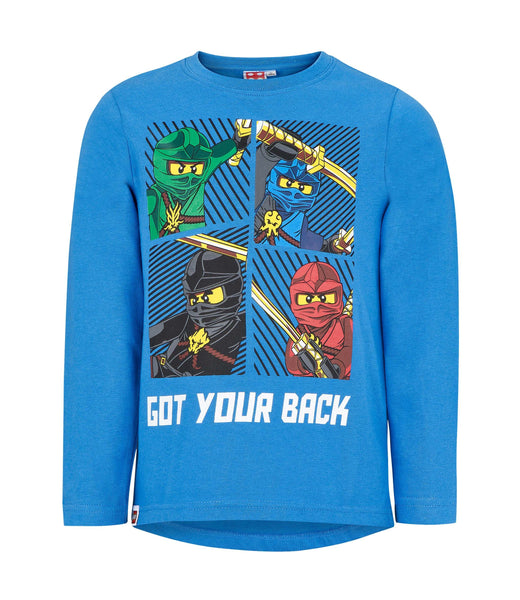 Lego Ninjago Long Sleeve T-Shirt - Blue