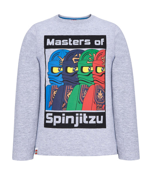 Lego Ninjago Long Sleeve T-Shirt - Grey