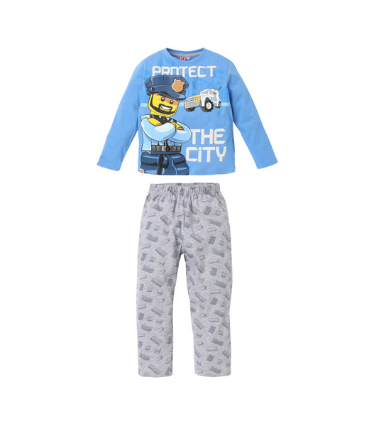 Boys Pyjamas Lego City - Blue