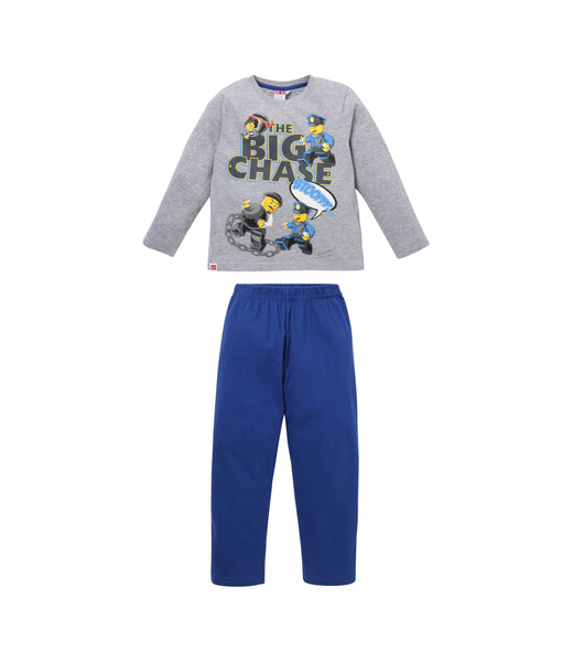 Boys Pyjamas Lego City - Grey