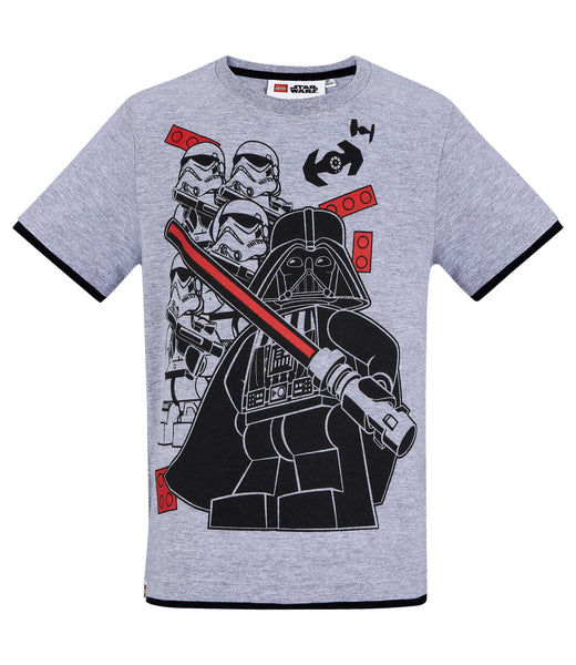 Boys T-Shirt Lego Star Wars - Grey