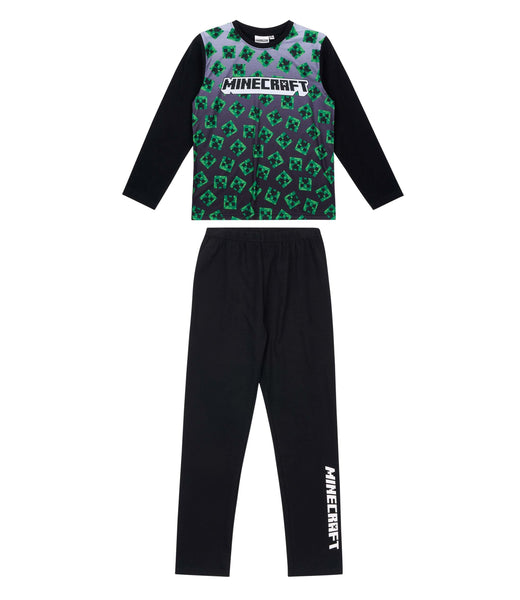 Minecraft Boys Pyjamas - Black