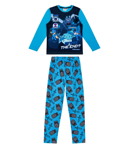 Minecraft Boys Pyjamas - Blue