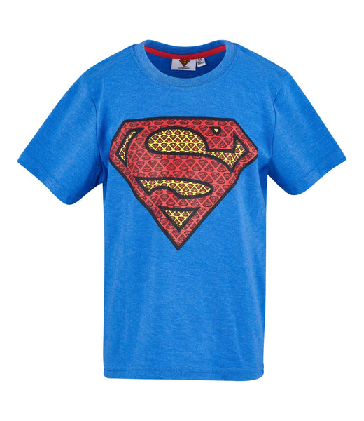 Superman Boys Logo T-Shirt - Blue