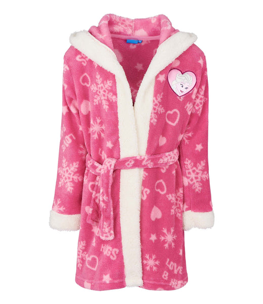 Girls Bathrobe - Disney Frozen