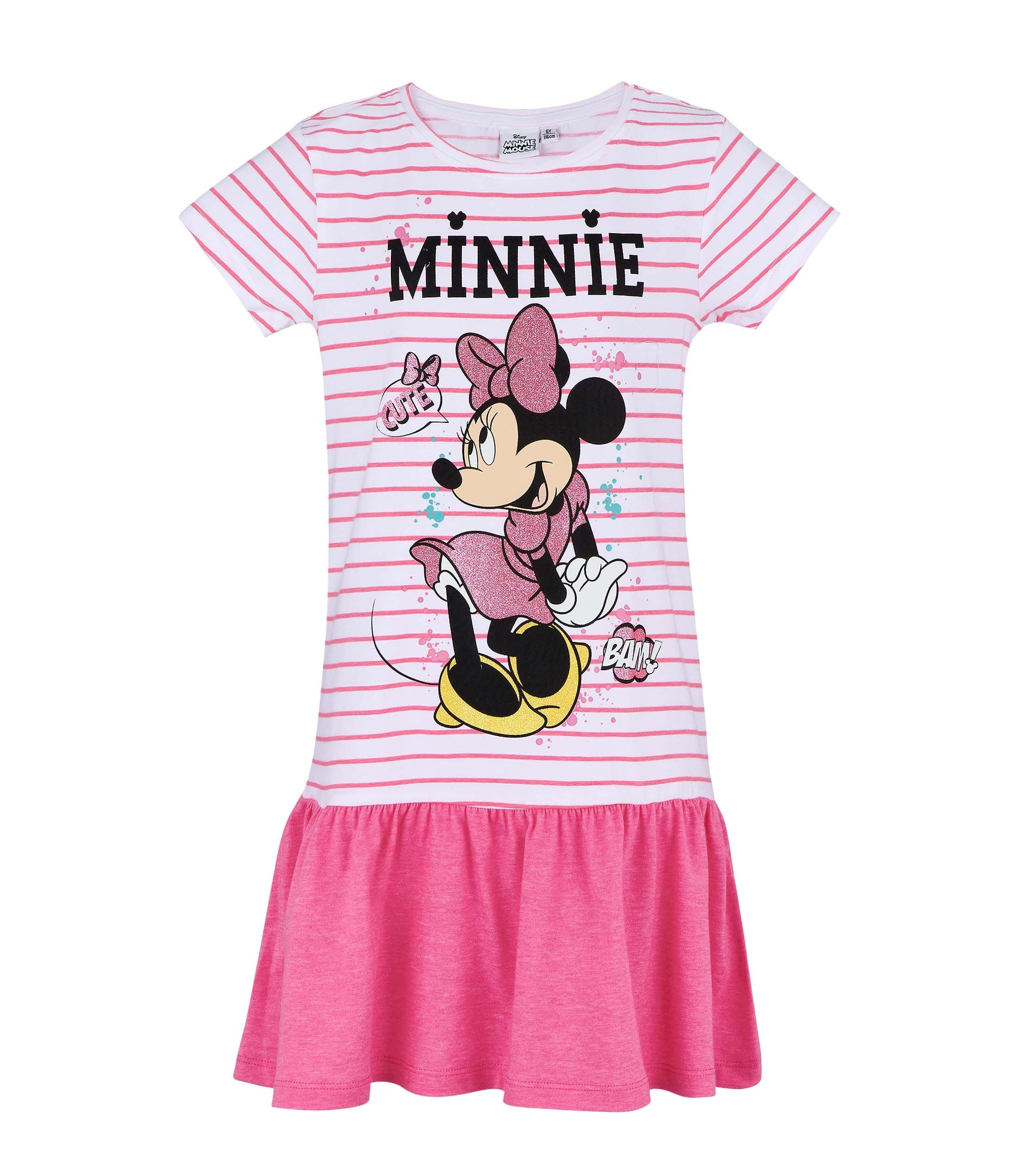 a543caa20ab7 Girls Dress Disney's Minnie Mouse - Pink – LUC BAUER