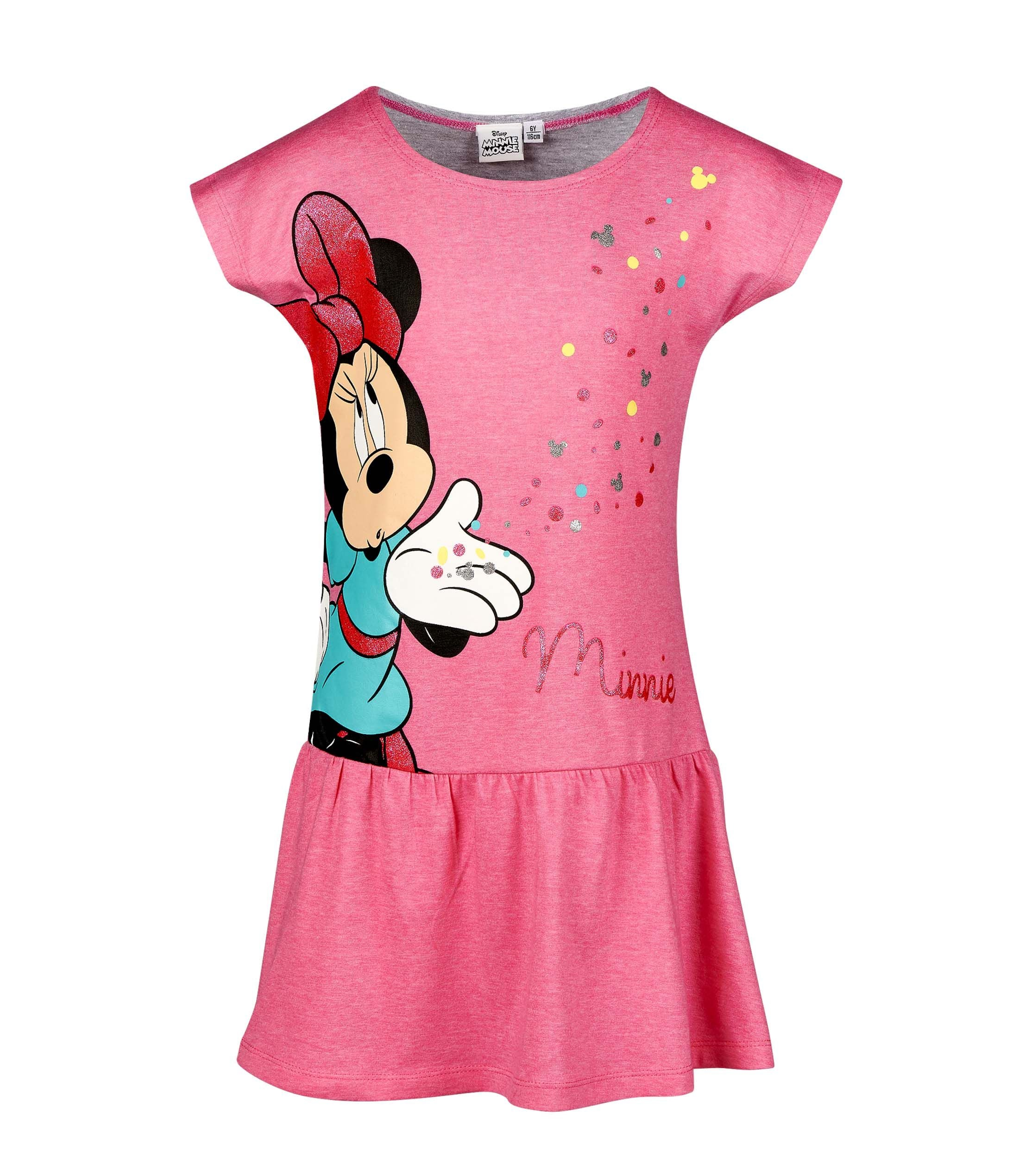 a8b53ede9689 Girls Dress Disney's Minnie Mouse - Fuchsia – LUC BAUER