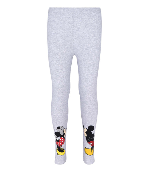 Girls Leggings Disney Minnie Mouse - Grey