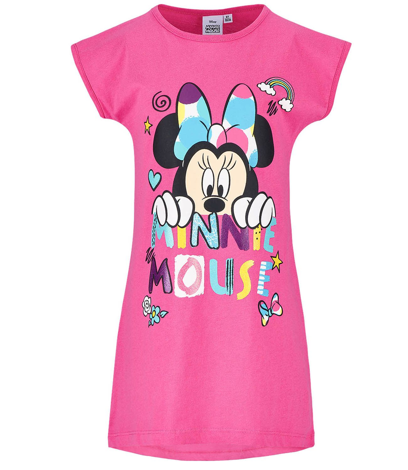 1c4bcea4cd14 Girls Nightdress Disney Minnie Mouse - Fuchsia – LUC BAUER