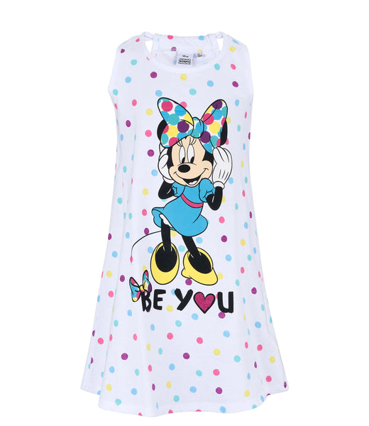 Girls Nightdress Disney Minnie Mouse - White