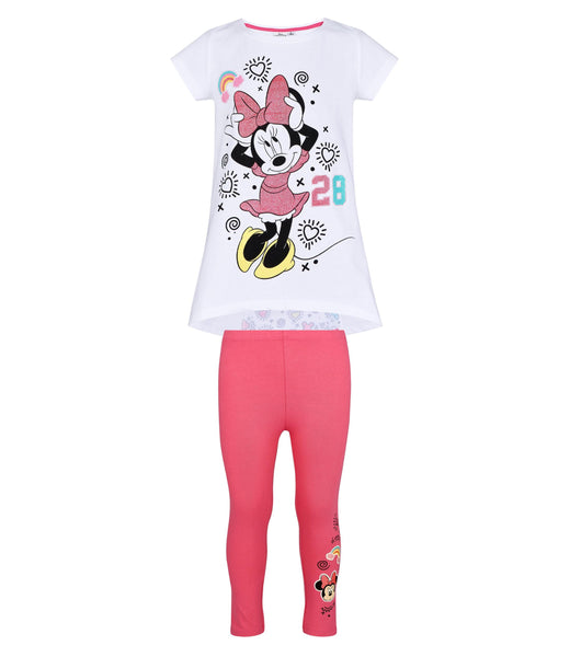 Girls T Shirt and Capri Pants - Disney's Minnie Mouse