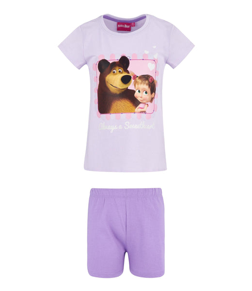 Masha and The Bear Pyjamas - Purple