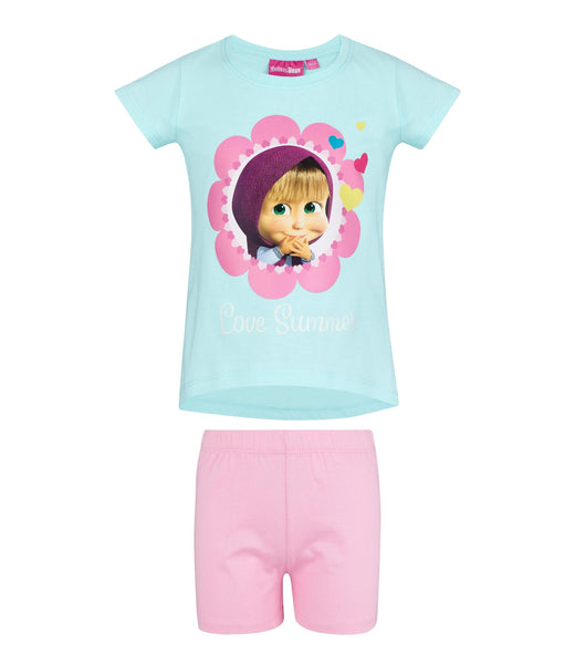 Masha and The Bear Pyjamas - Turquoise
