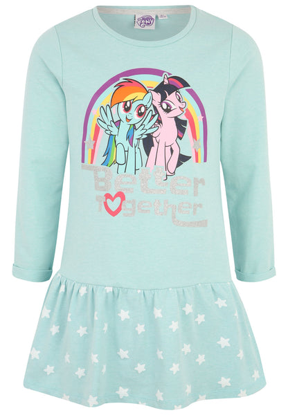 Girls Dress My Little Pony - Turquoise