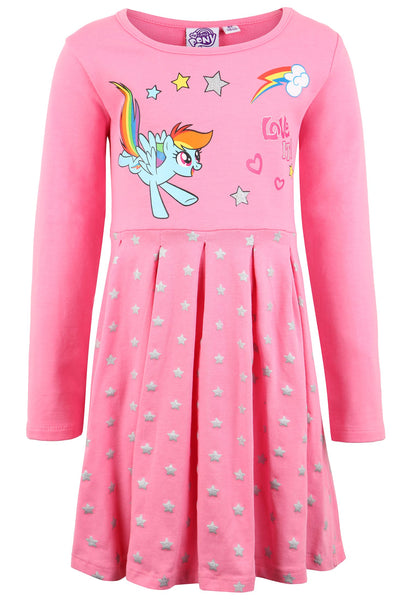 Girls Dress My Little Pony - Fuchsia