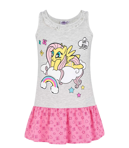 Girls Dress My Little Pony - Grey