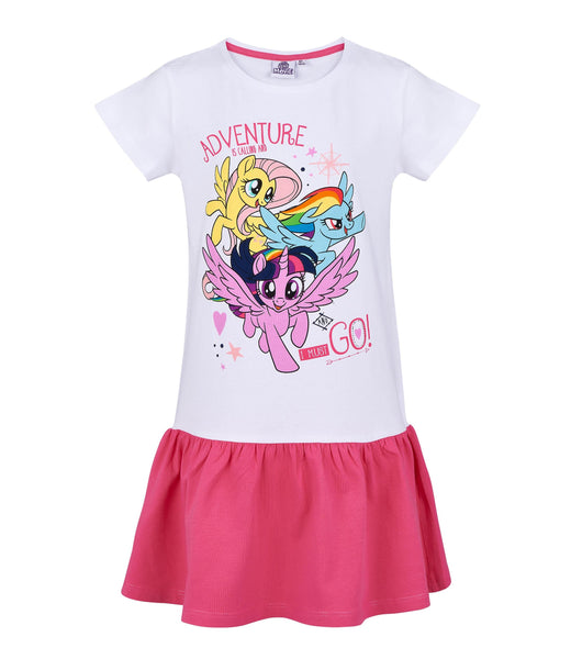 Girls Dress My Little Pony - White