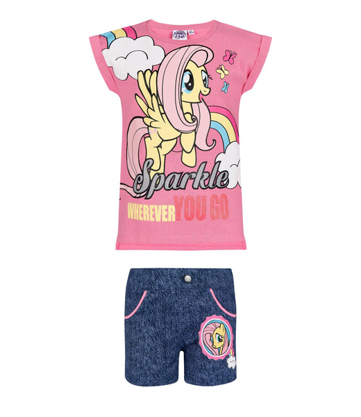Girls T-Shirt & Shorts My Little Pony - Pink