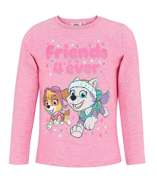 Girls Long Sleeve T-Shirt Paw Patrol - Pink