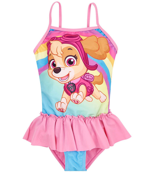 Girls Swimsuit Paw Patrol - Fuchsia