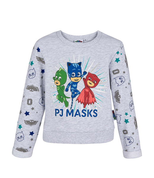 Girls Sweatshirt Pj Masks - Grey