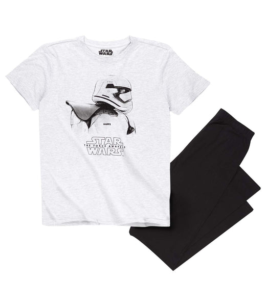 Grey / Black Star Wars Pyjamas