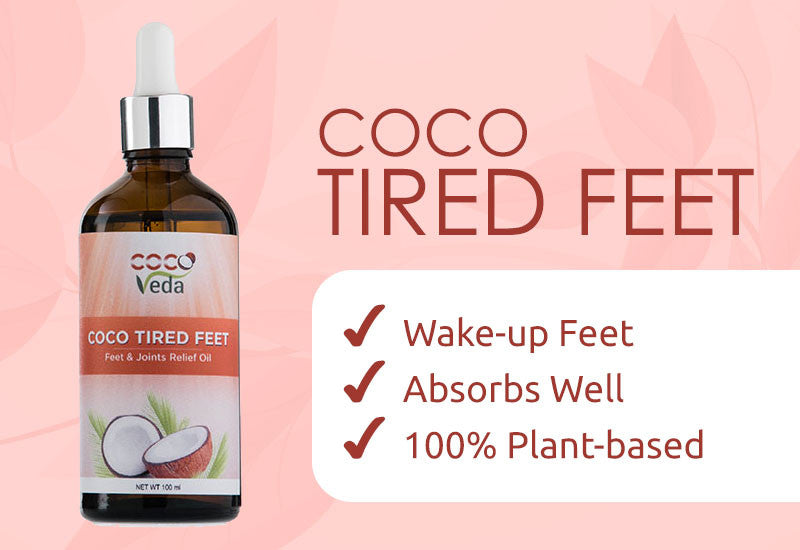 Coco Tired Feet Coco Veda Natural Products Inc