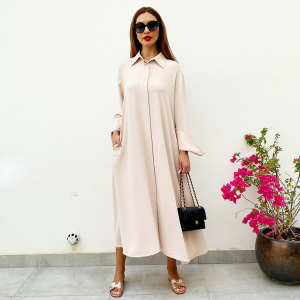 RAM21 FARAH KAFTAN SHIRT DRESS