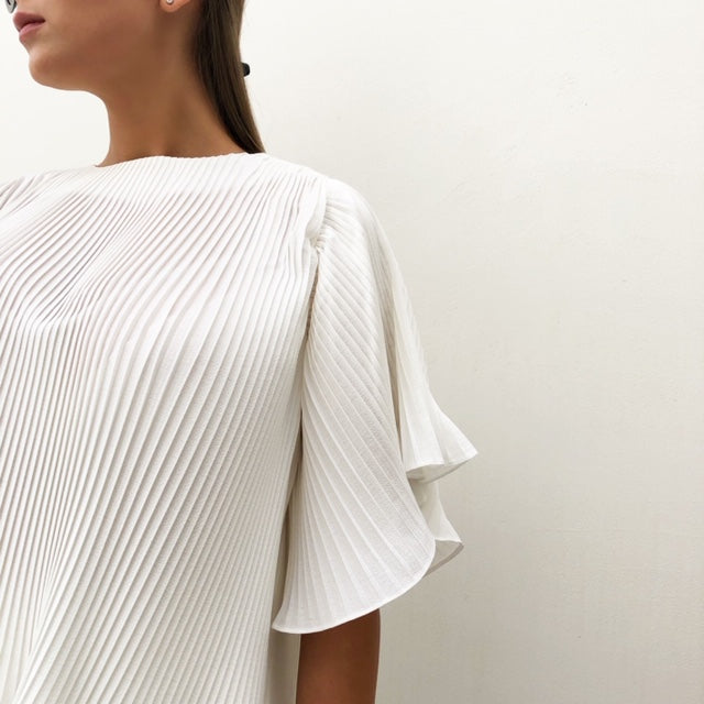 RAM19 PLEATED T SHIRT