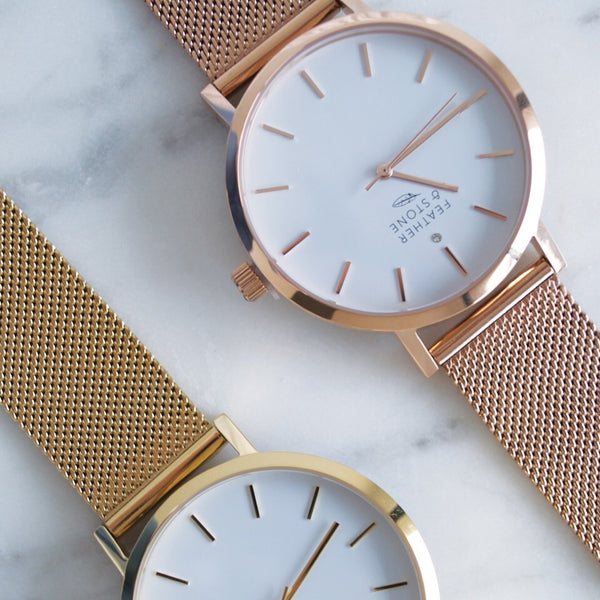 The Molly Rose gold Mesh Edition