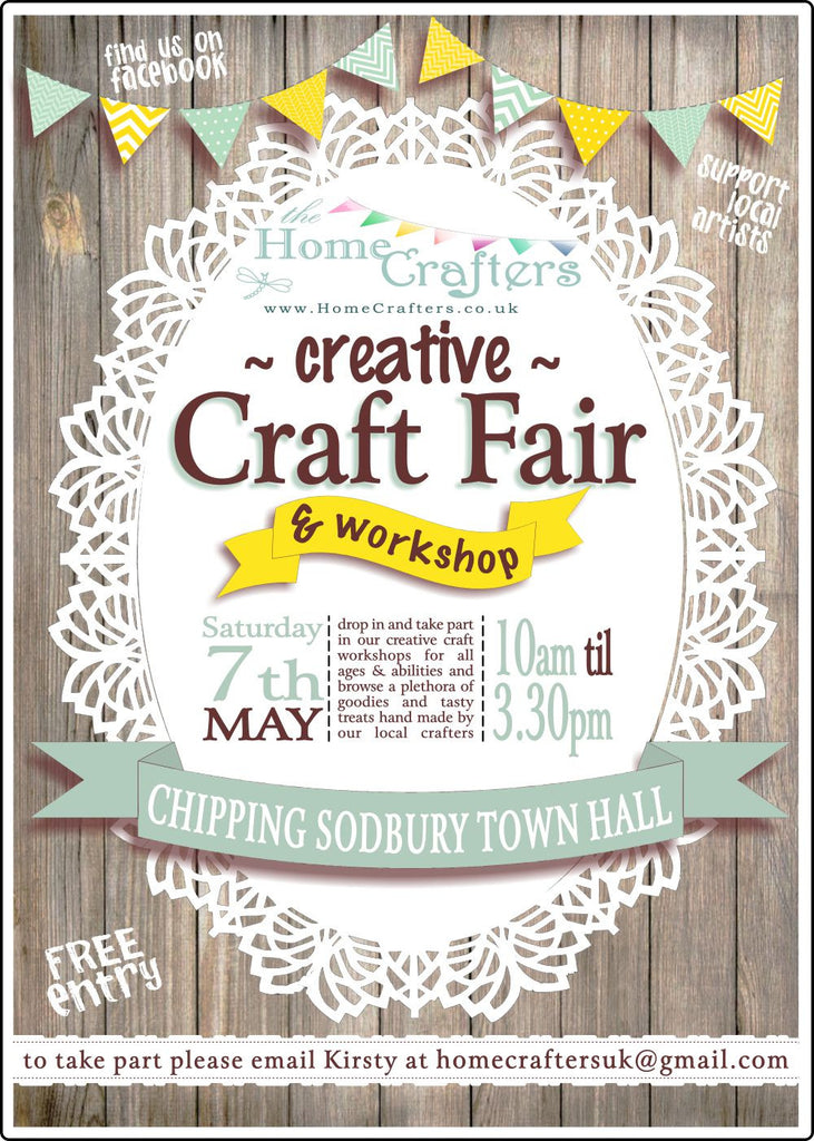 The Home Crafters Creative Craft Fair & Workshop Event