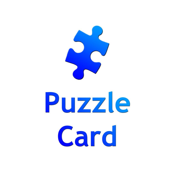 Puzzle Card - Cards & Stationery