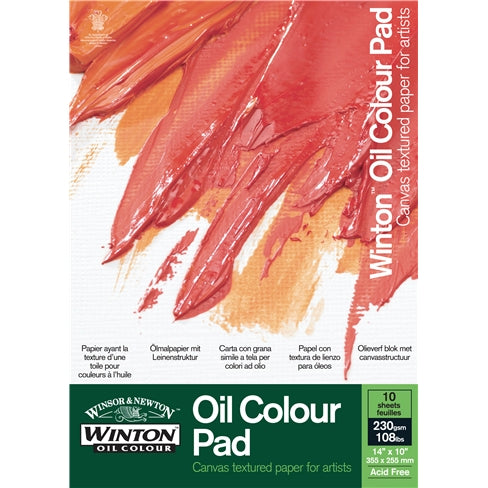 Winsor & Newton Winton Oil Colour Paper Pad (Gummed)