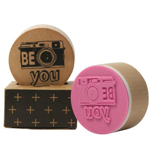 Wooden Pop Stamp - Be You